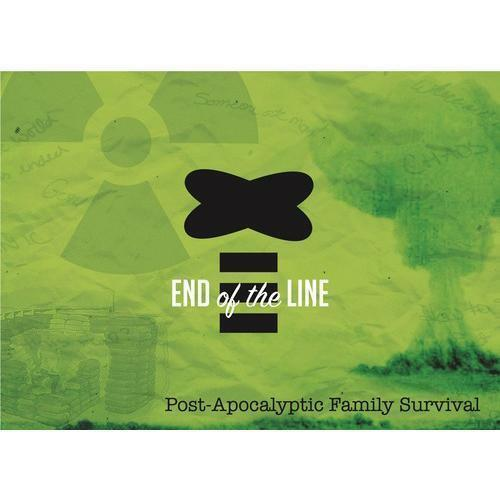 END OF THE LINE - Post Apocalyptic Board Game - NEW and SEALED