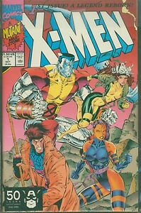 Marvel-Comics-X-Men-1-1st-1991-Gambit-Rogue-Colossus-Psyloche-Cover
