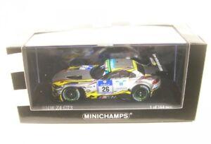Bmw Z4 GT3 N ° 26 24h Nürburgring 2015 (farfus - Müller Catsburg Adorf)