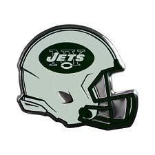 New York Jets Aluminum Helmet Auto Emblem [NEW] Metal Car Auto Decal NFL
