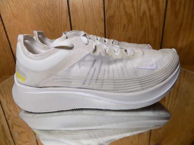 new style 93c5e 31dff Nike Zoom Fly SP Light Bone White Running Training {AJ9282-002} Size 12