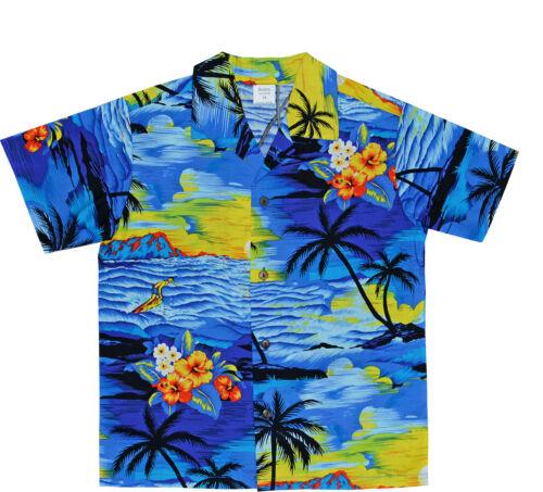 Kids Hawaiian Shirt Funky Designer Shirt Short Sleeves