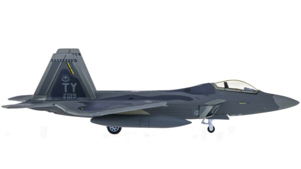 1:200 Hogan USAF Lockheed F-22 TY AF 01 01Fighter Plane Diecast ...