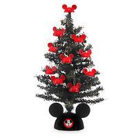 Disney Parks Store - Santa Mickey Mouse Tabletop Tree - 12'' - Christmas -