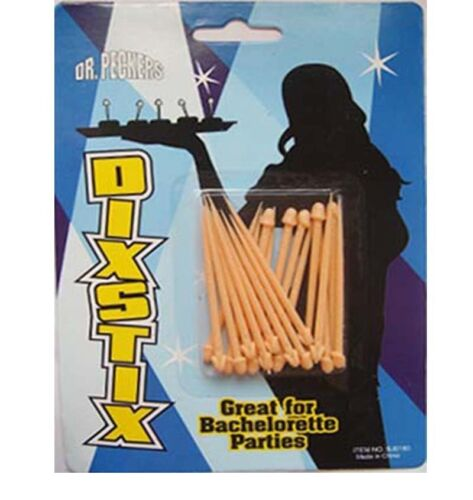 WILLY COCKTAIL STICKS 20 PACK HEN STAG NIGHT PARTY HEN NIGHT DINNER ACCESSORIES
