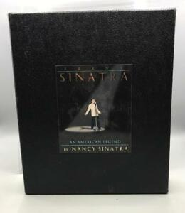 Frank-Sinatra-Un-Americain-Legende-Collectionneurs-Livre-CD-Par-Nancy