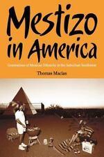 Mestizo in America : Generations of Mexican Ethnicity in the Suburban...