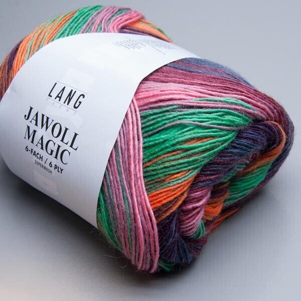 Nadelstärke 3-3,5 LL 420m Lang Yarns Jawoll Magic 6Ply 53 150g