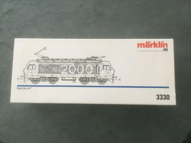 Elektrolokomotive RE 4/4 der SBB von Märklin 3330 - in OVP