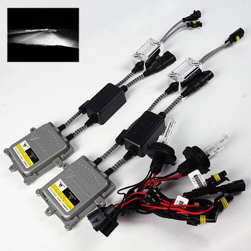 6000K White 9004-2//HB1-2 Xenon 55W Can-bus Ballast HID Conversion Kit Headlights