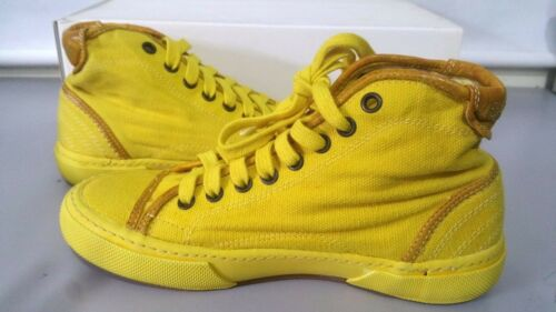 Donna Scarpe Unisex Pantofola D'oro 36 Tn47 Giallo Shoes Sneakers Uomo Canvas vURxqwv7