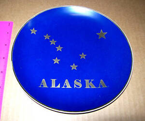Alaska Big Dipper Collector Plate New Collector Plate With Alaska State Flag Ebay
