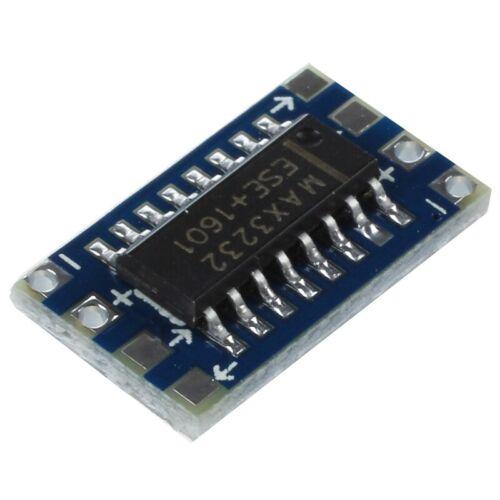 5 x Mini RS232 zum TTL Konverter Modul Brett DE U4Z8 G6M5 GZ 20X