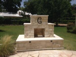 Details About Diy Outdoor Fireplace Construction Plan 40 Pg Diagrams And Written Instruction