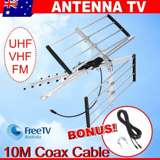 Greentek FM4 UHF/VHF Outdoor TV Antenna