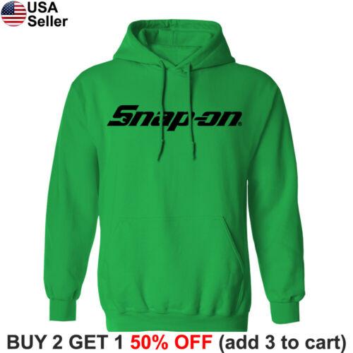 Snap-On Tools Hooded Sweatshirt Mechanic Racing Auto Part Sweater Shirt Hoodie