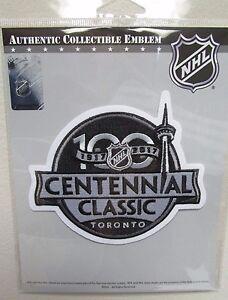 2017 NHL CENTENNIAL CLASSIC TORONTO MAPLE LEAFS OFFICIAL HOCKEY PATCH EMBLEM
