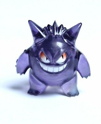 Retro Original TOMY Pokemon Figures | Rare Transparent Gengar