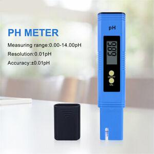 Digital-Pocket-Electric-PH-Meter-Tester-Hydroponics-Aquarium-Water-Test-Pen-UK
