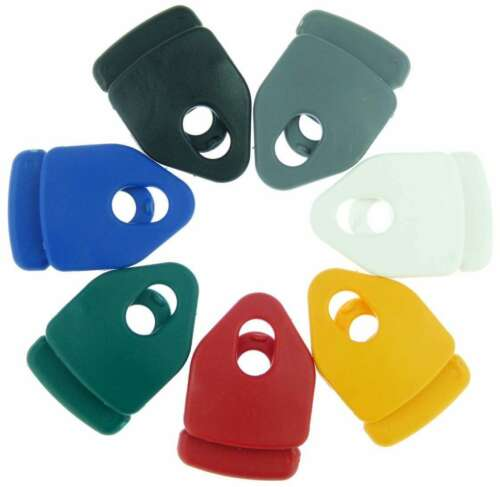 10x Holdon Universal MINI Clip BLAU Klemmösen Spannklammern Spannfix Spanner Öse