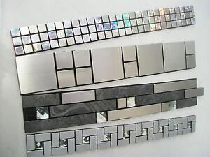 Mosaic Border Tiles Peel Amp Stick Design 4 Colours