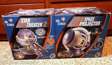 3-D SPACE PROJECTOR & Star Theater Set 2in1 edu science 042499080095 meteor show