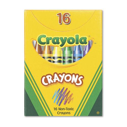 CRAYON,TUCKBX,16PK,AST