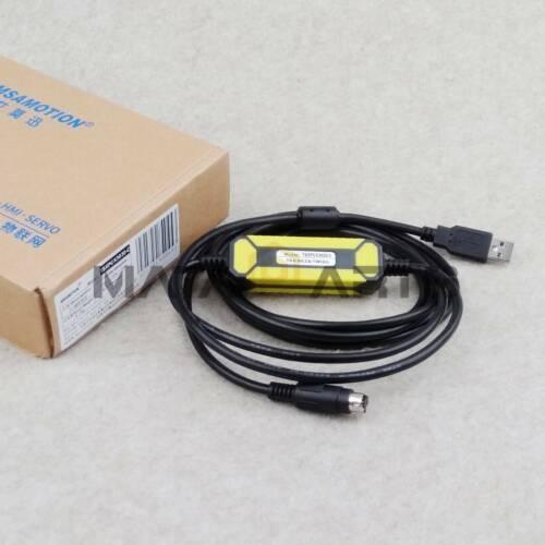 AMSAMOTION TSXPCX3030-C Programming Cable For Wido// TSX //Neza Series PLC