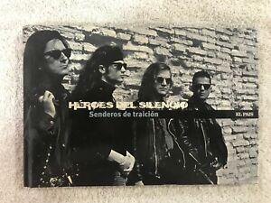 HEROES-DEL-SILENCIO-DVD-LIBRO-SENDEROS-DE-TRAICIoN-EMI