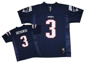 NWT Stephen Gostkowski  3 New England Patriots NFL Youth Navy Mid ... 0999ef330