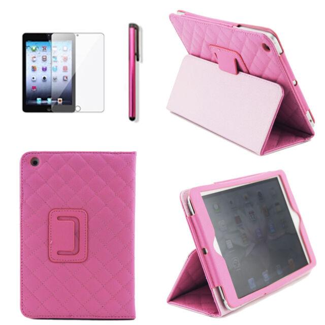 Sleep Wake Magnetic PU Leather Folio Stand Case Smart Cover for iPad Mini 1 2 3