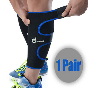 edb5f7792c Sport Calf Brace Sleeve Support Shin Splints Leg Compression Socks ...