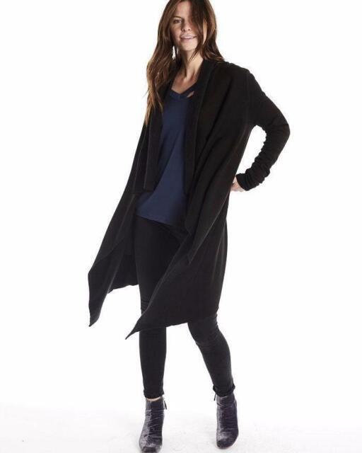 Steel Magnolia Cardigan - Black | Plus size tunic dress