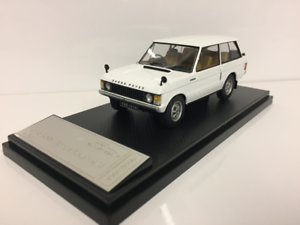 Land Rover Range Rover 1970 white Échelle 1 43 Almost Real 410102