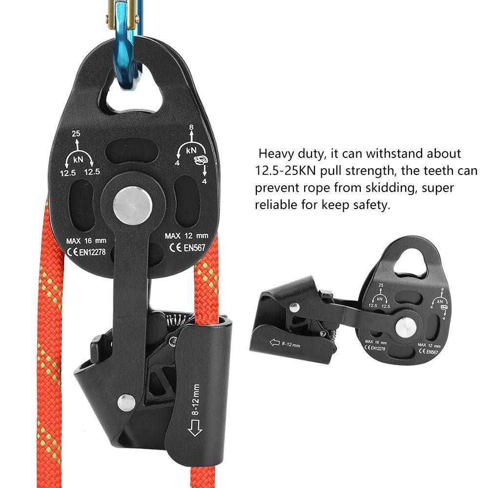 Single Wheel Swivel Pulley Block Fitness Hebekabelsystem DIY Seilrolle