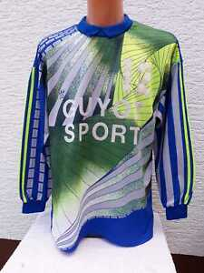 Details zu Adidas Torwart Trikot Shirt Goalkeeper Vintage L Gardien But Maillot Landerneau