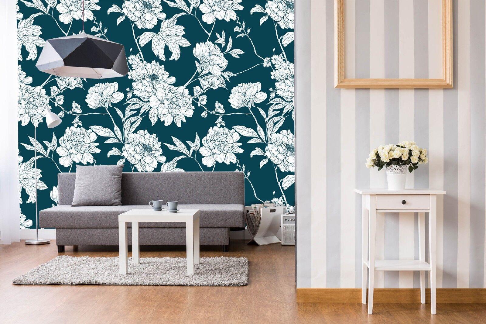 3D Flower Art 875 Wall Paper Murals Wall Print Wall Wallpaper Mural AU Sidney