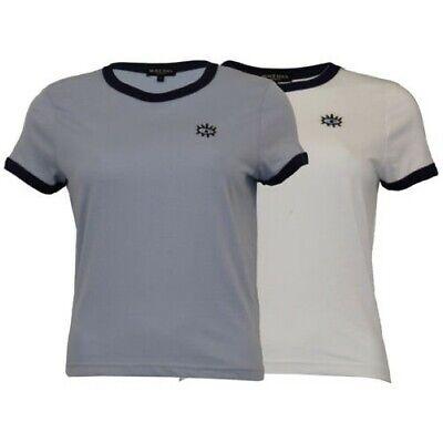 Damen Bauchfrei Top Brave Soul T-shirt Rundhalsausschnitt Flügelärmel Eyer