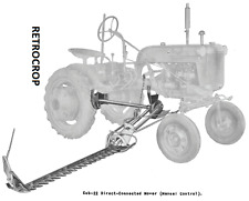 Ih International Amp Farmall Cub 22 Sickle Bar Hay Mower Operators Owners Manual