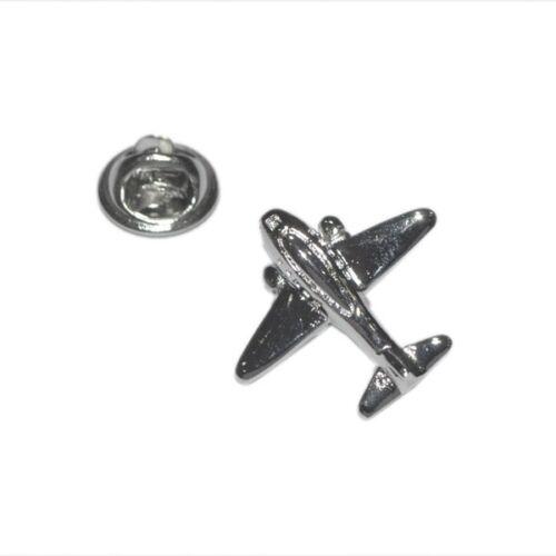 Plata avión Pin De Solapa Insignia Aviones Avion Piloto Raf Flying actual para él