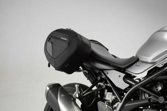 SW Motech Blaze Motorcycle Luggage Panniers to fit Suzuki SV650 ABS / X