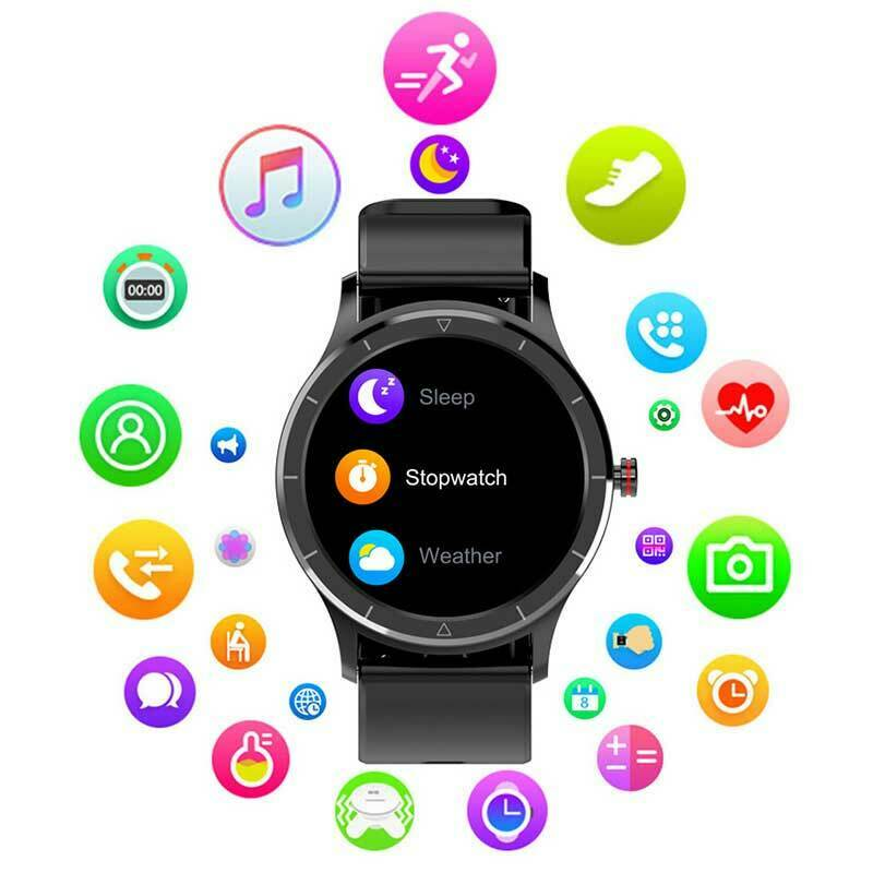 LANON Waterproof Smart Watch Sports Heart Rate Blood Pressure For Android iOS