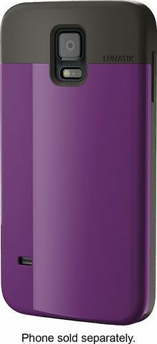 Lunatik Flak Case for Samsung Galaxy S5 - Purple