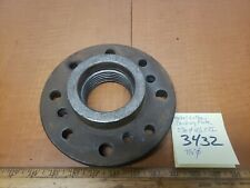 Metal Lathe 34 Jaw Chuck Backing Plate 278412 Tpi 712 Dia