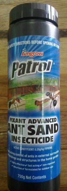 Amgrow Patrol Fix Ant Advanced Ant Sand Powder Insecticide 750g 0.25/kg Fipronil