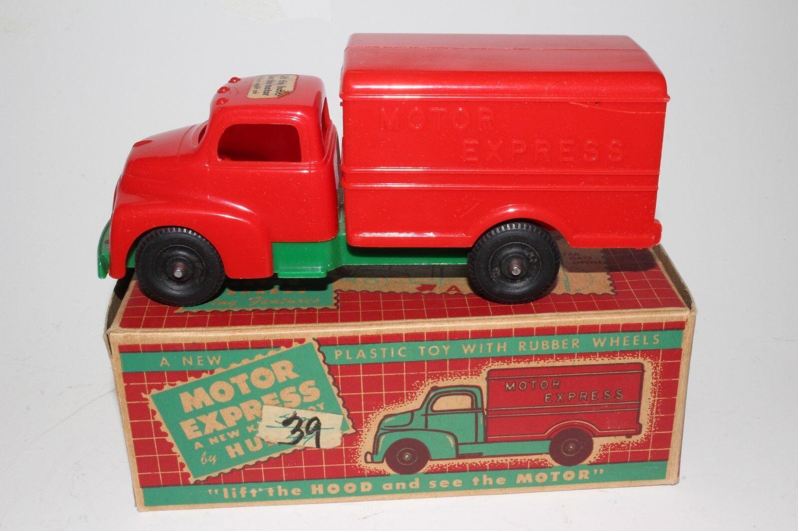 594ms Hubley GMC Caja Plástico Entrega Camión, con Original Caja