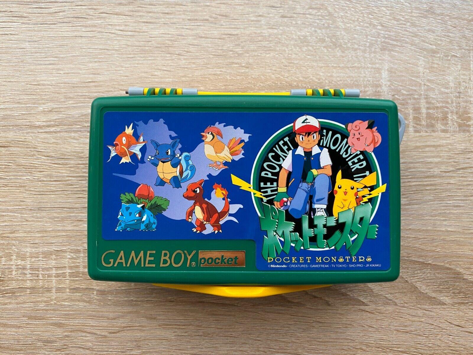 Pokemon / Pocket Monsters Rare Cartridge Carrying Case For Game Boy Pocket