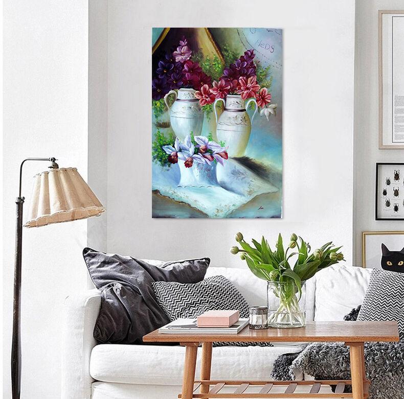 3D Gemälde blumen 623 Fototapeten Wandbild BildTapete Familie AJSTORE DE Lemon