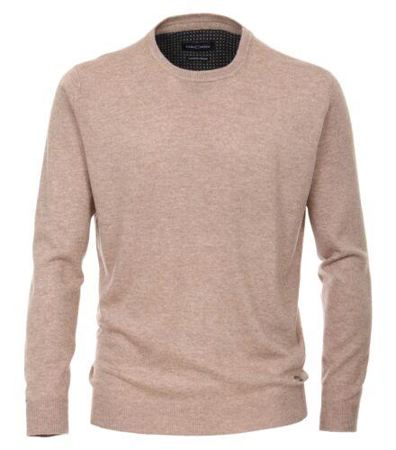 Casa Moda-Pullover uomo in webmuster con scollo a girocollo 483006400