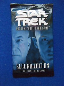 Second-Edition-Premiere-Booster-Pack-Star-Trek-CCG-card-game-Decipher-BB-2E-2002